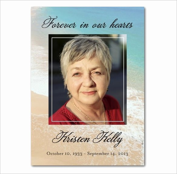 Free Memorial Card Template New 16 Obituary Card Templates Free Printable Word Excel
