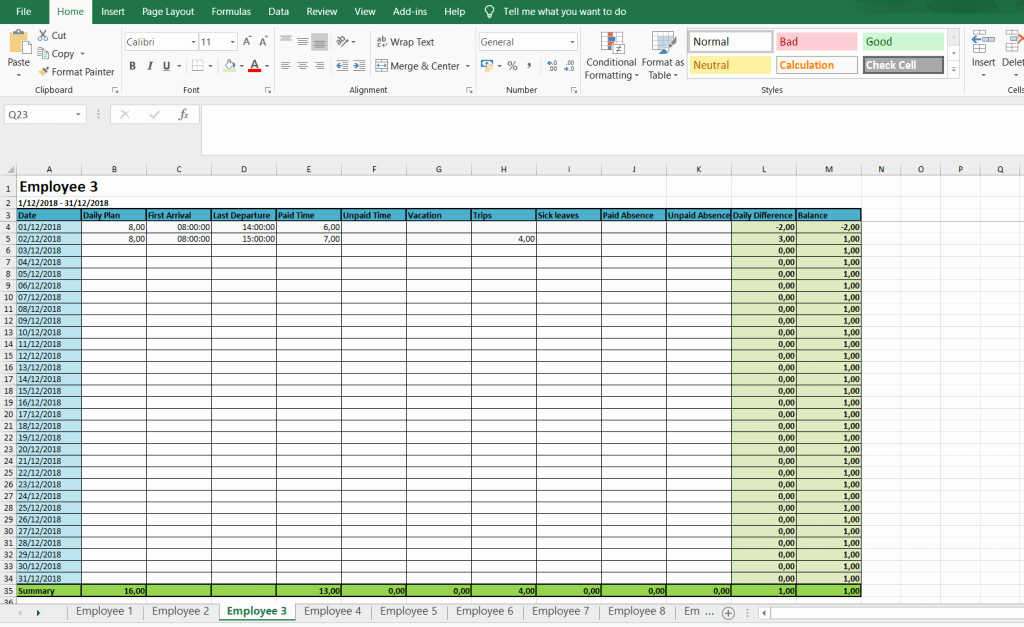 Free Monthly Timesheet Template Awesome Monthly and Weekly Timesheets Free Excel Timesheet