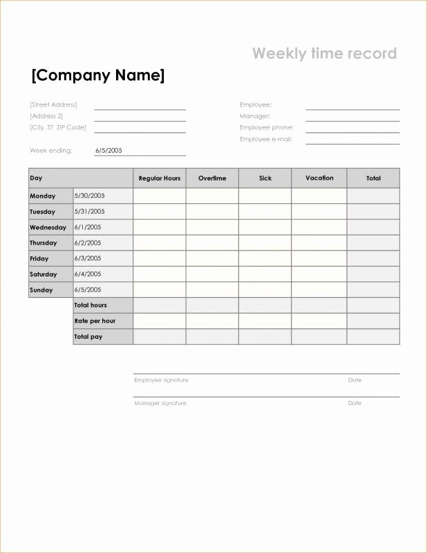 Free Monthly Timesheet Template Beautiful Free Printable Timesheets