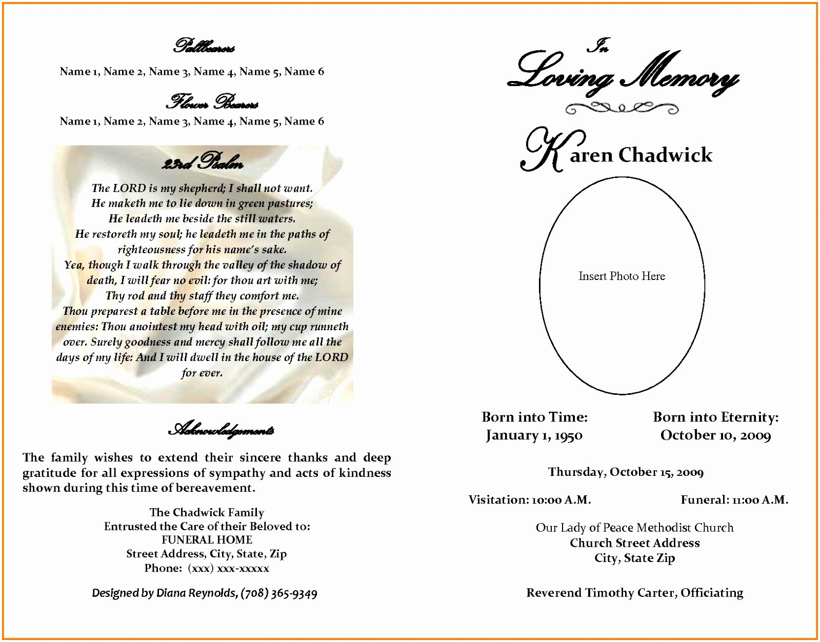 Free Obituary Templates for Word Best Of 10 Obituary Template Microsoft Word Free Download Teupt