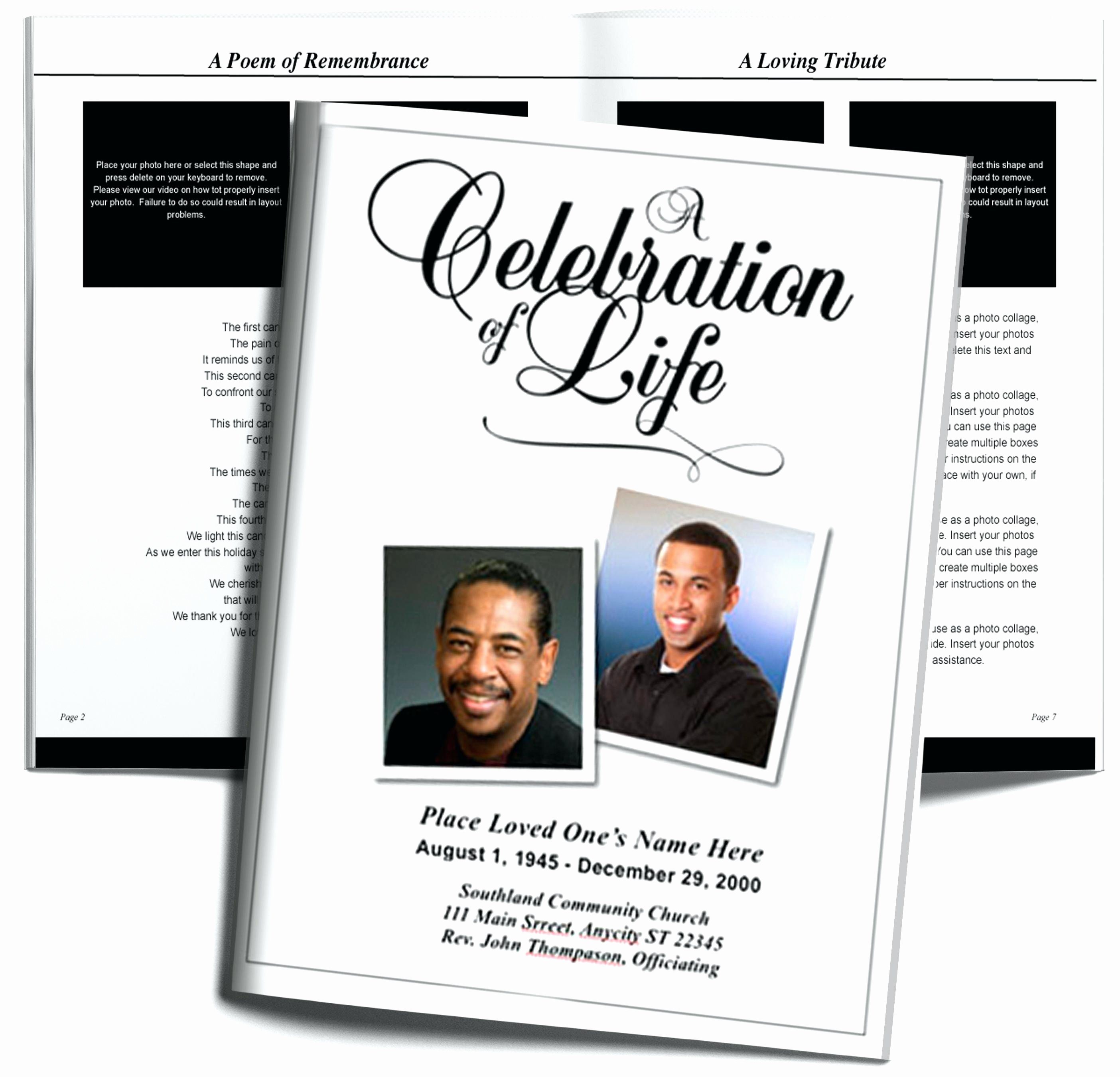Free Obituary Templates for Word Inspirational Free Editable Obituary Templates Word Pdf Daily Roabox