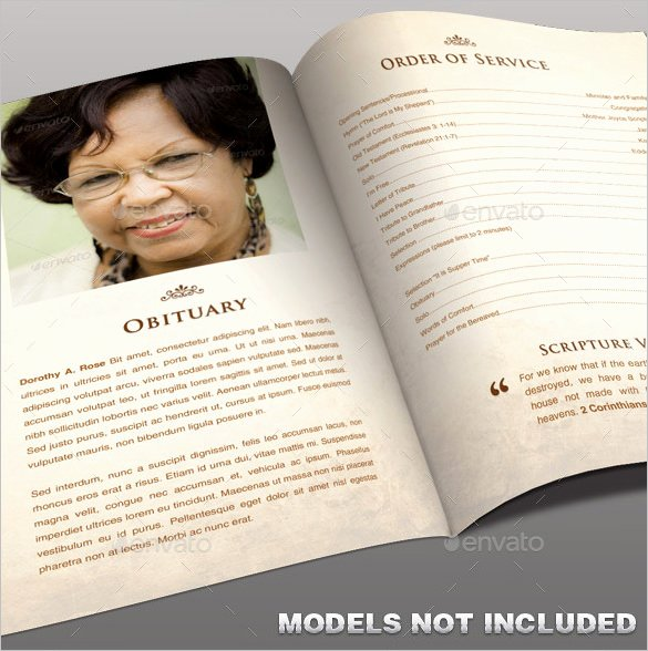 Free Obituary Templates for Word Lovely Obituary Program Template 19 Free Word Excel Pdf Psd