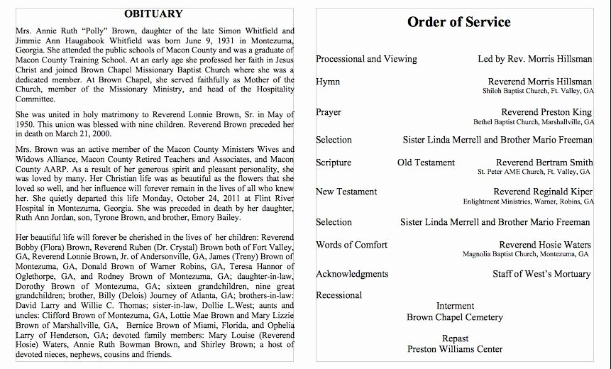 Free Obituary Templates for Word Unique 25 Free Obituary Templates and Samples Free Template
