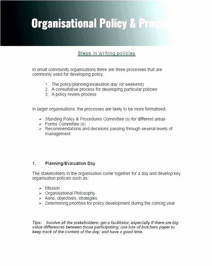Free Office Procedures Manual Template Unique Jennifermccall