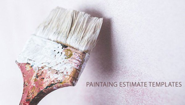 Free Painting Estimate Template Fresh Painting Estimate Template 4 Free Word Pdf Documents