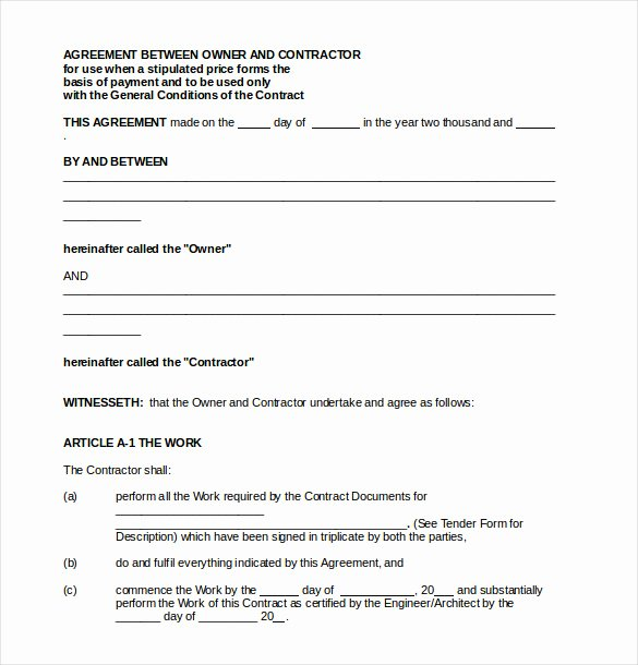 Free Payment Agreement Template Best Of 22 Payment Agreement Templates Word Pdf Google Docs