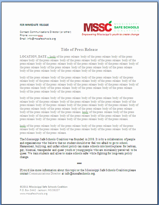 Free Press Release Template Beautiful Day Four the Day Of tomorrow Davis Designs