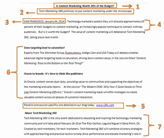 Free Press Release Template Beautiful Pr Tip Writing A Press Release for Small Business
