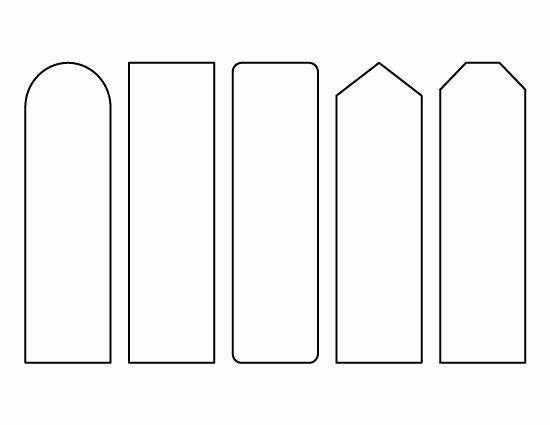 Free Printable Bookmark Templates Awesome Resultado De Imagem Para Bookmark Template