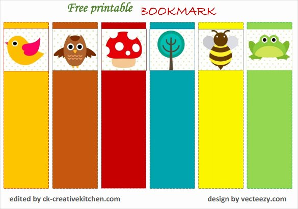 Free Printable Bookmark Templates Beautiful 14 Free Bookmark Templates Psd Vector Eps