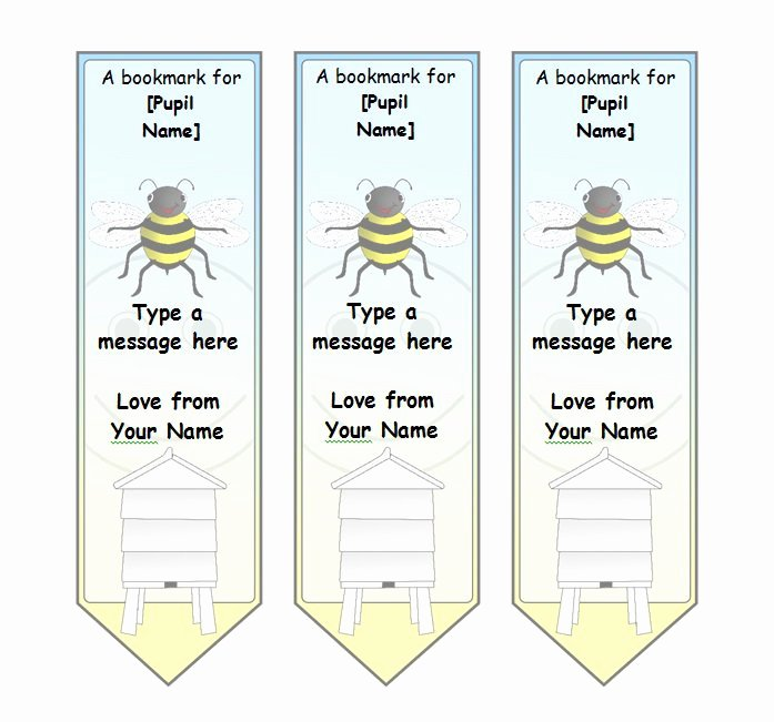 Free Printable Bookmark Templates Beautiful 40 Free Printable Bookmark Templates Free Template Downloads