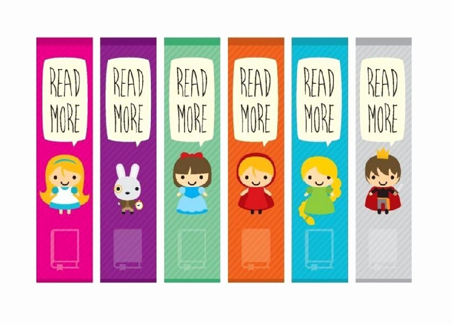 Free Printable Bookmark Templates Beautiful 40 Free Printable Bookmark Templates Free Template Downloads