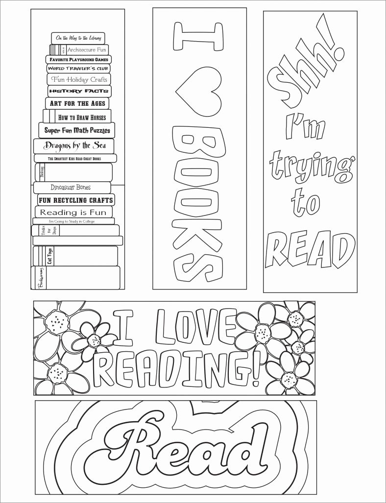 Free Printable Bookmark Templates Elegant Blank Bookmark Template – 135 Free Psd Ai Eps Word