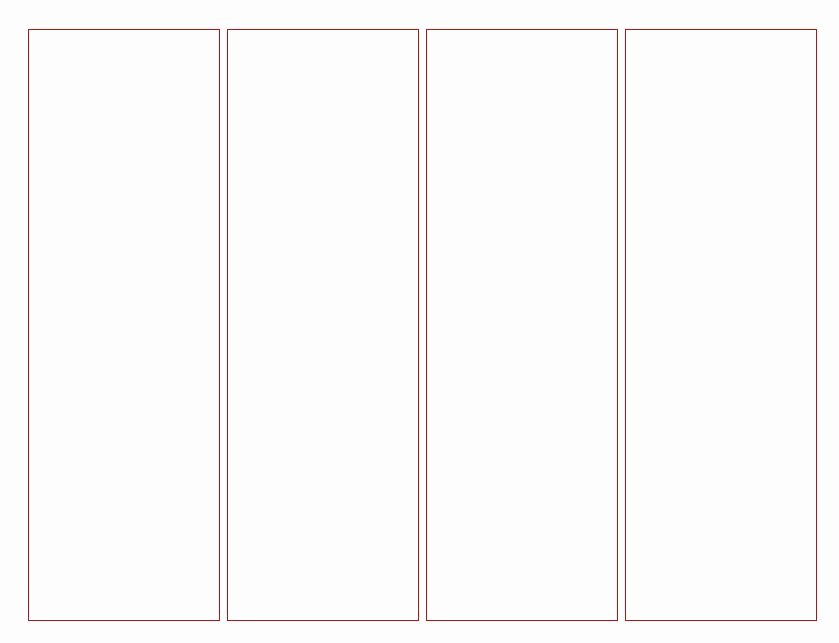 Free Printable Bookmark Templates Inspirational Blank Bookmark Template for Word