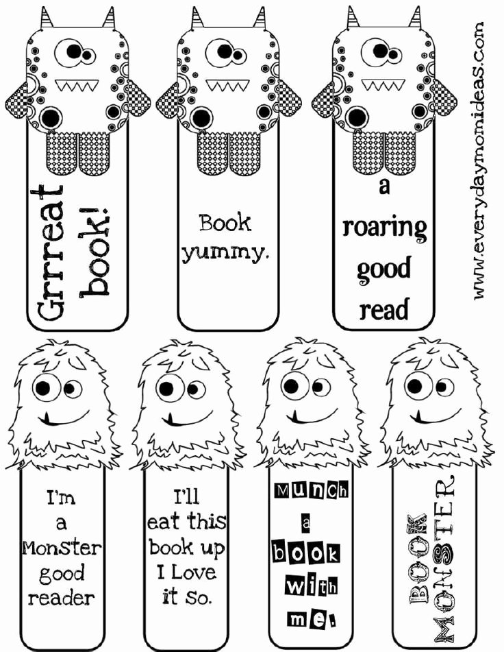 Free Printable Bookmark Templates Lovely 141 Best Images About Printable Free Things to Print Out