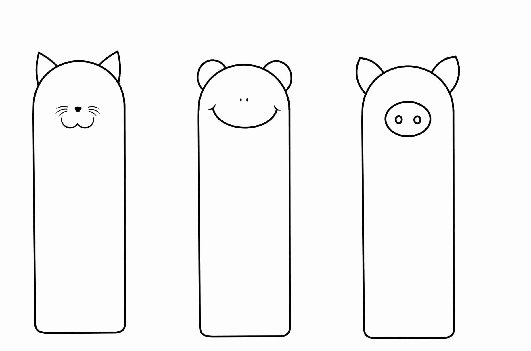 Free Printable Bookmark Templates Lovely Free Printable Bookmark Templates Download Template
