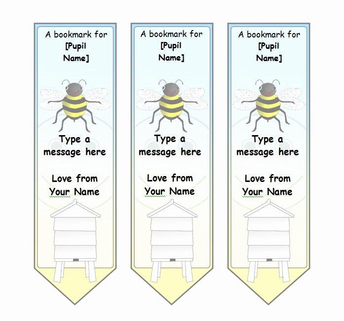 Free Printable Bookmark Templates Luxury 50 Free Printable Bookmark Templates Template Lab