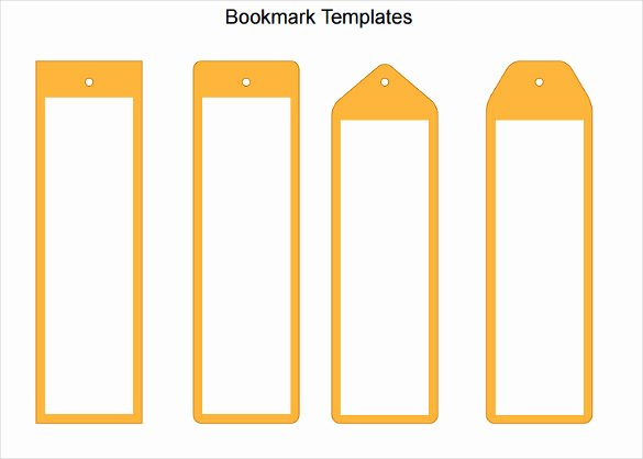 Free Printable Bookmark Templates Unique Blank Bookmark Template 135 Free Psd Ai Eps Word
