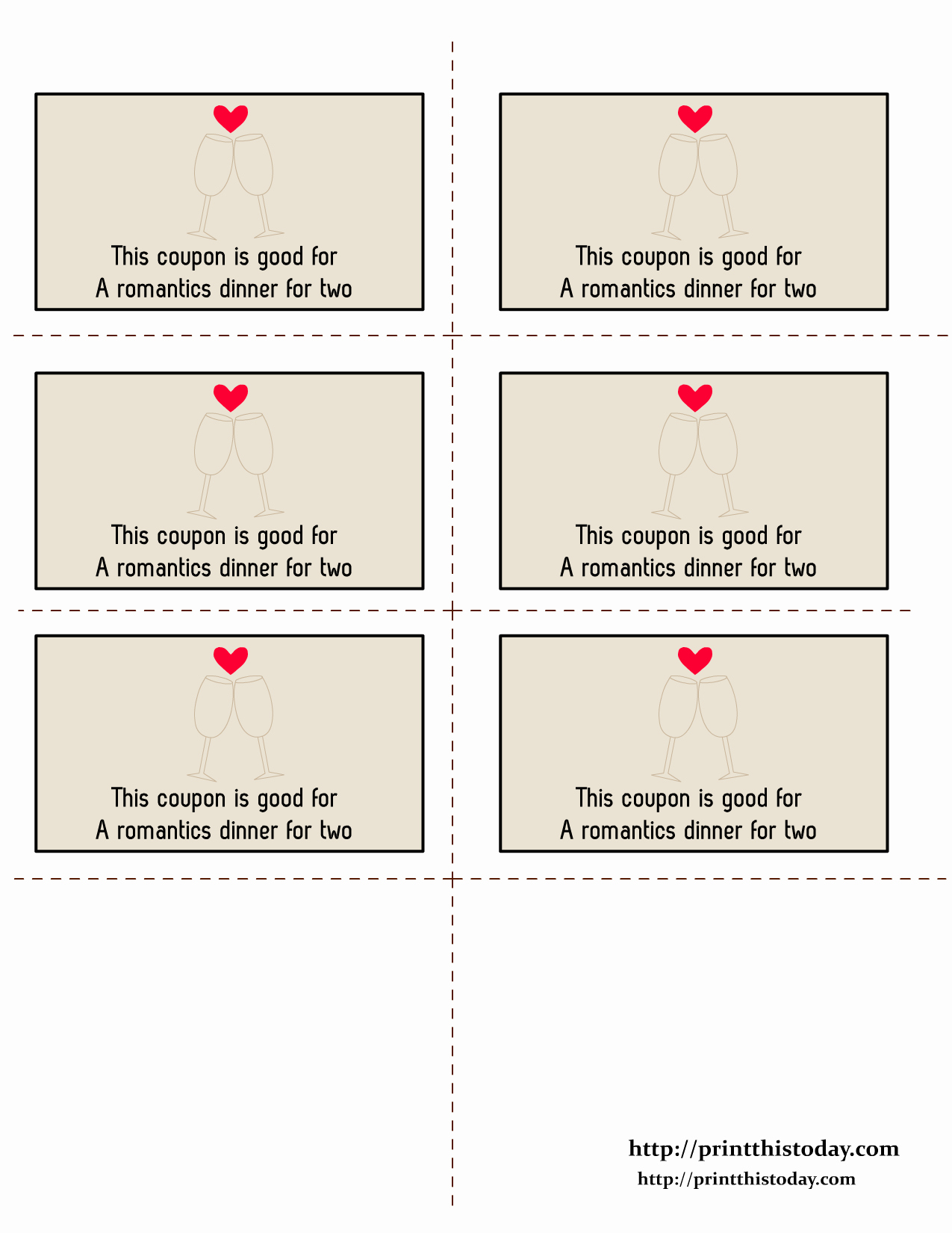 Free Printable Coupon Templates Best Of Free Printable Love Coupons