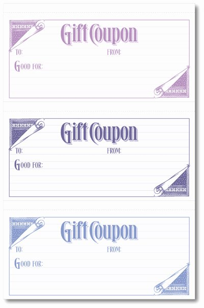 Free Printable Coupon Templates Fresh Free Coupon Templates Printable