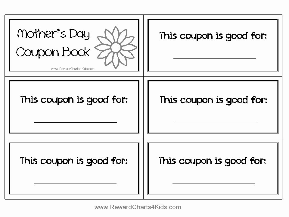 Free Printable Coupon Templates New Coupon Book Template