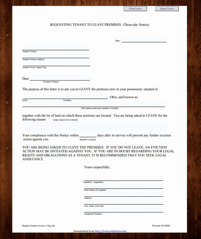 Free Printable Eviction Notice Template Elegant 12 Free Eviction Notice Templates for Download Designyep