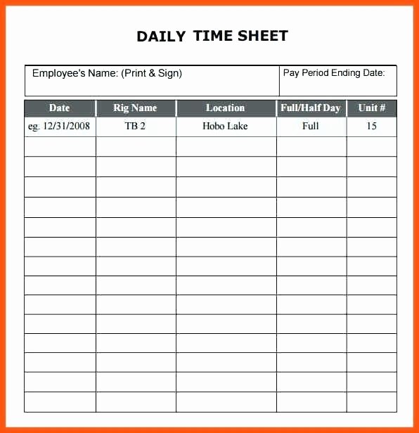 Free Printable Monthly Timesheet Template Awesome Free Printable Weekly Employee Timesheet Template 1431