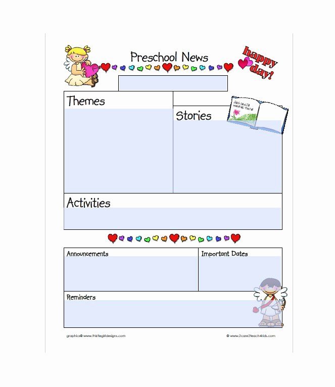 Free Printable Newsletter Templates New 50 Free Newsletter Templates for Work School and