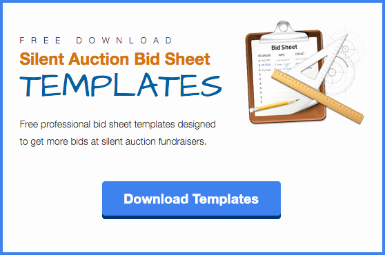 Free Printable Silent Auction Templates Awesome the Ultimate List Of 100 Silent Auction Item Ideas