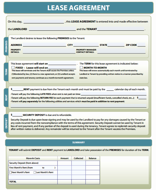 Free Property Management forms Templates Beautiful Property Management forms Free Download