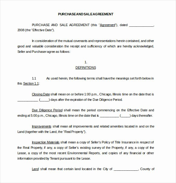 Free Purchase Agreement Template Best Of 28 Purchase Agreement Templates – Word Pdf Pages