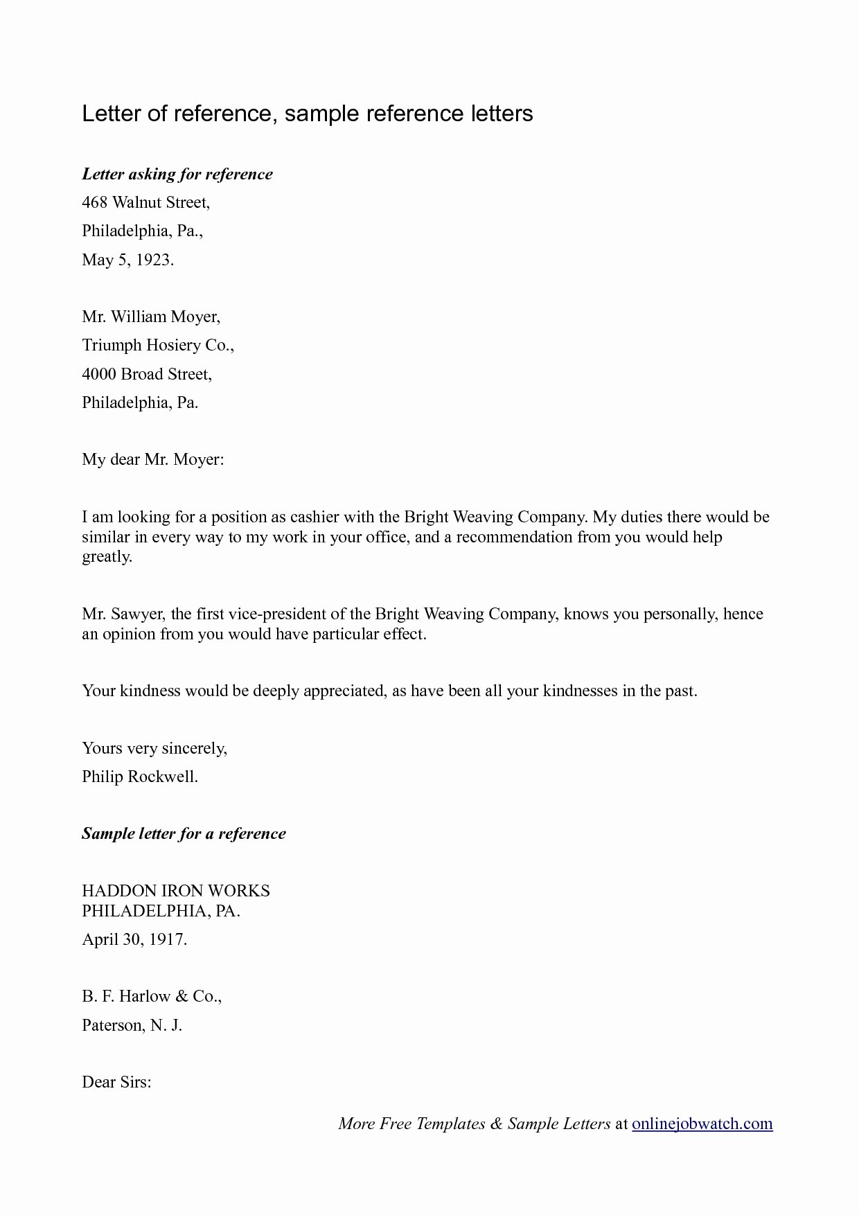Free Reference Letter Template Awesome Letter Reference Template