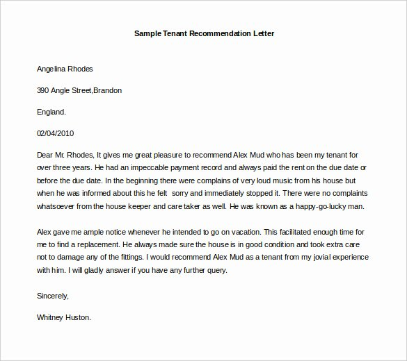 Free Reference Letter Template Best Of 30 Re Mendation Letter Templates Pdf Doc