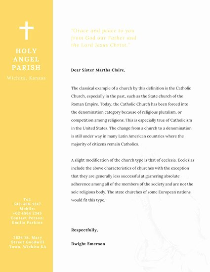 Free Religious Letterhead Templates Awesome Indian Red Church Letterhead Templates by Canva