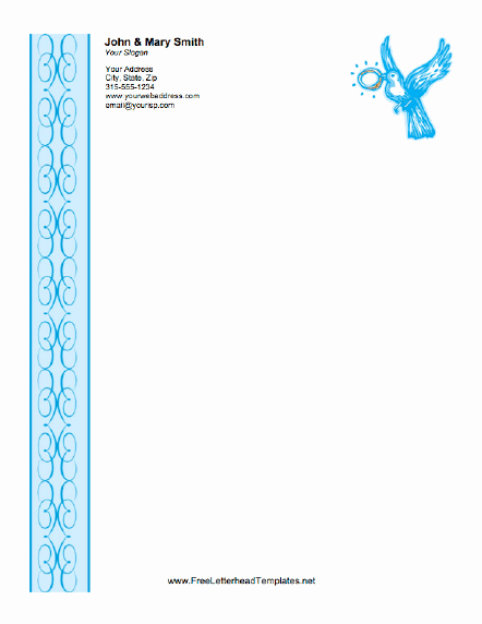 Free Religious Letterhead Templates Beautiful Wedding Letterhead Ring