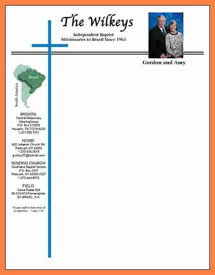 Free Religious Letterhead Templates Elegant 4 Church Letterhead Templates