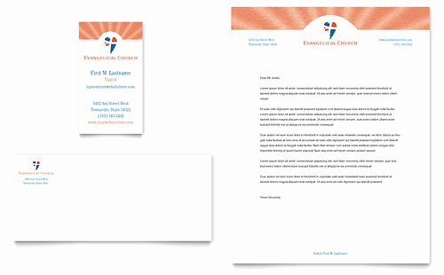 Free Religious Letterhead Templates Inspirational Evangelical Church Brochure Template Design