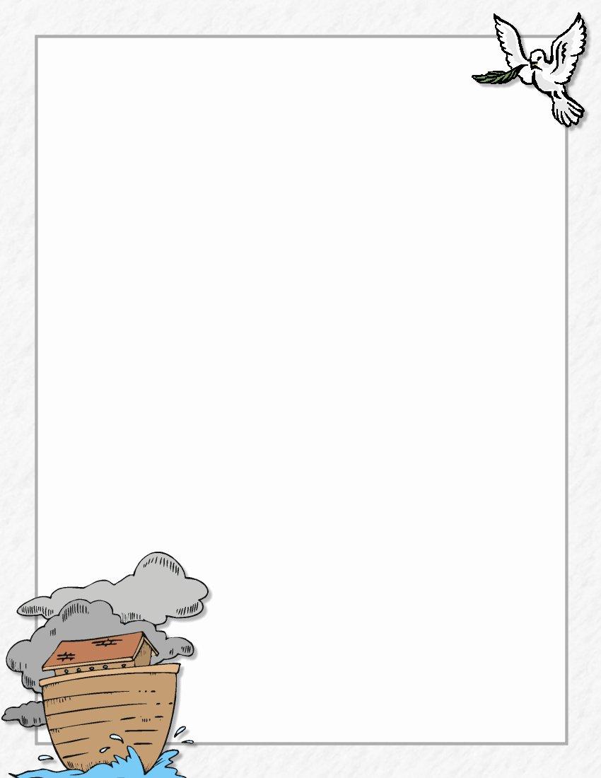 Free Religious Letterhead Templates Luxury Religious Stationery theme Page 1