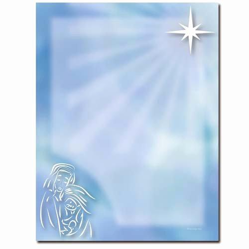 Free Religious Letterhead Templates New Buy Baby Jesus Letterhead