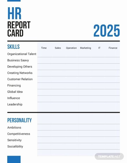 Free Report Card Template Beautiful Free Report Card Templates