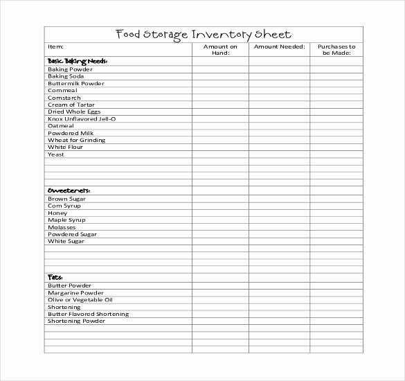Free Restaurant Checklist Templates Beautiful Restaurant Inventory Template 17 Free Word Excel Food