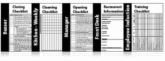 Free Restaurant Checklist Templates Lovely Restaurant Checklist Templates Free Find Word Templates