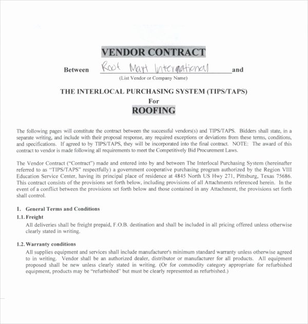 Free Roofing Contract Template Lovely 15 Roofing Contract Templates Word Pdf Google Docs