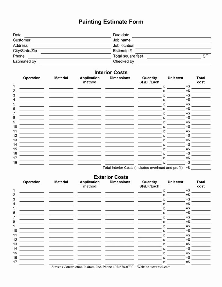 Free Roofing Estimate Template Unique 10 Roofing Estimate Template Free Download