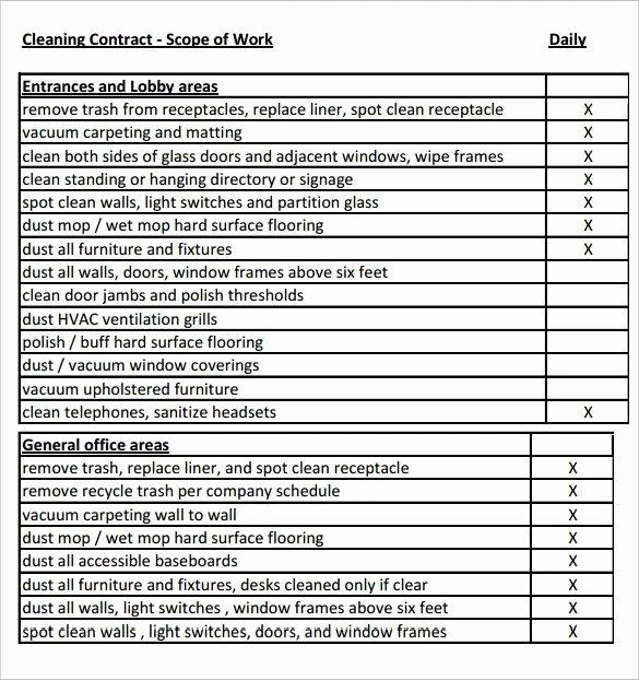 Free Scope Of Work Template Elegant Scope Of Work Template 36 Free Word Pdf Documents
