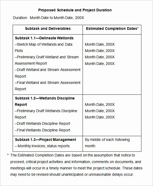 Free Scope Of Work Template New Scope Work Templates