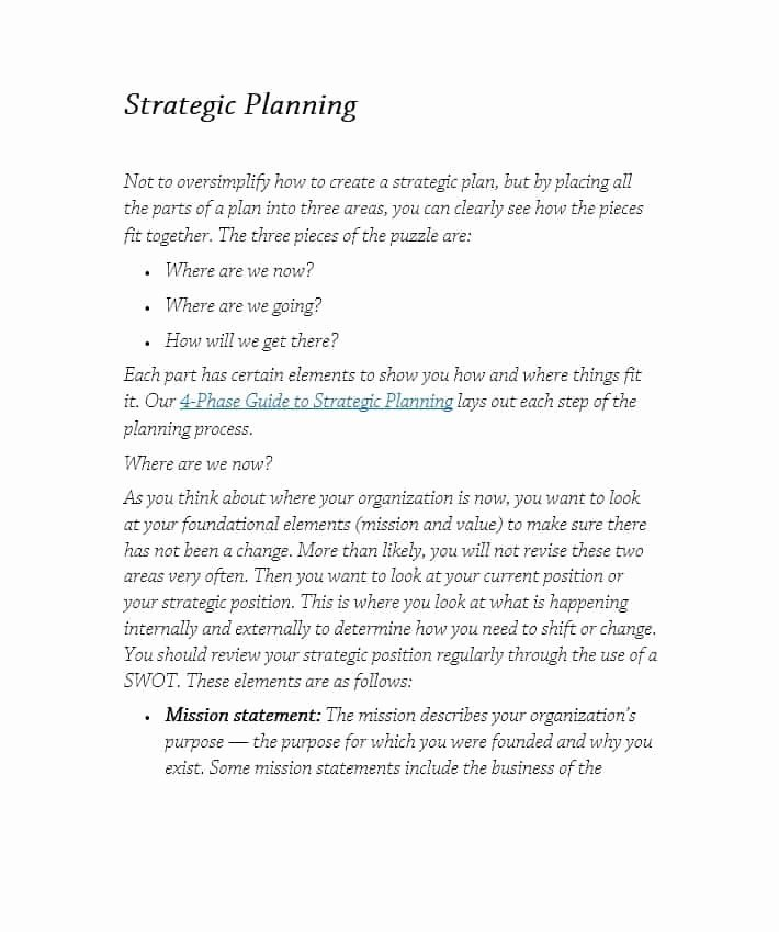 Free Strategic Plan Template Beautiful 32 Great Strategic Plan Templates to Grow Your Business