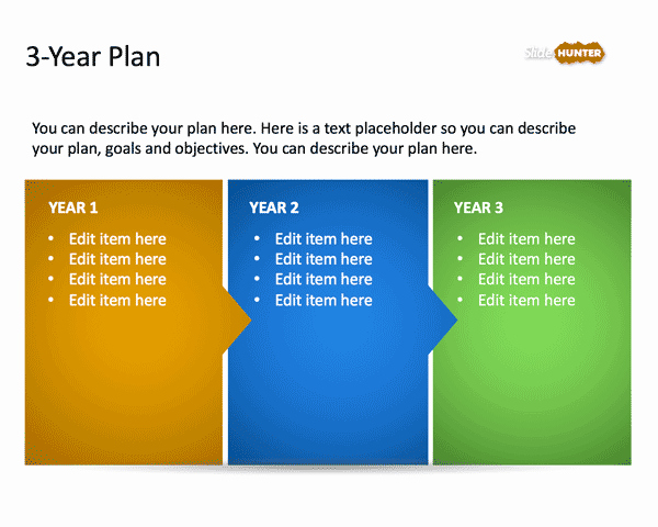 Free Strategic Plan Template Elegant 3 Year Strategic Plan Powerpoint Template is A Free