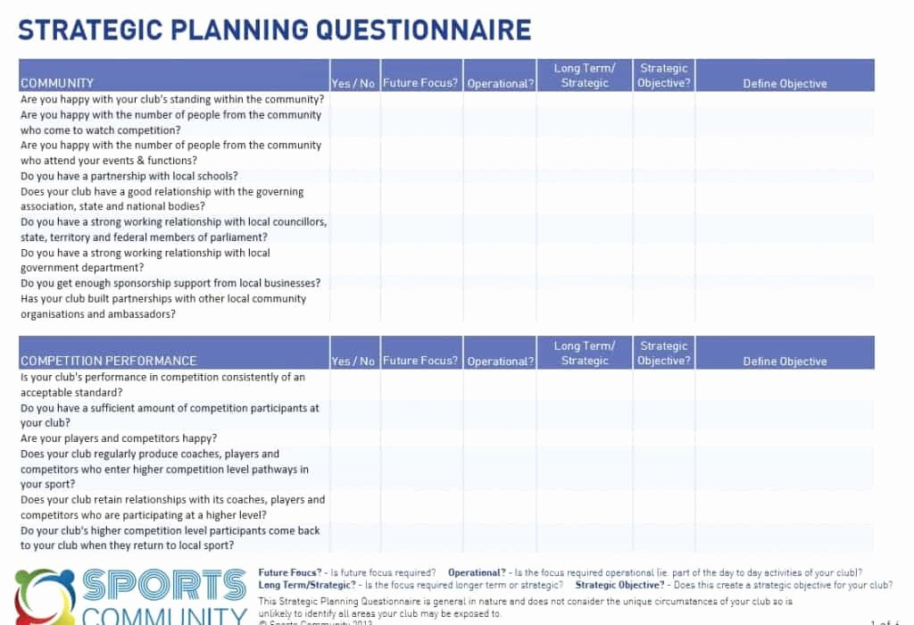 Free Strategic Plan Template Luxury 5 Free Strategic Plan Templates Word Excel Pdf formats