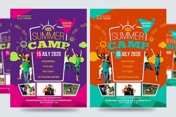 Free Summer Camp Flyer Template Awesome 51 Summer Camp Flyer Templates Psd Eps Indesign Word
